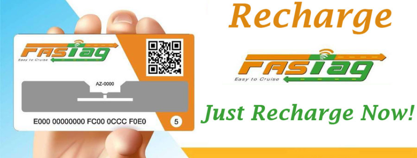 online fastag recharge with Just recharge now